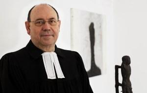 Nikolaus Schneider, voorzitter van de Evangelische Kirche in Deutschland